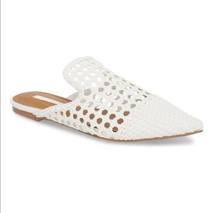 Topshop Shoes - Topshop (via Nordstrom) white flats pointy toe